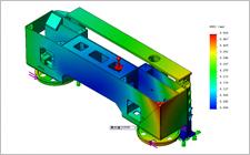 ブリッジ型ソーヘッドフレームの構造解析